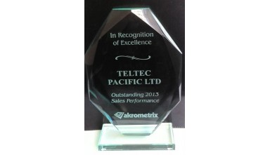 Awarded Outstanding 2013 Sales Performance from Akrometrix
