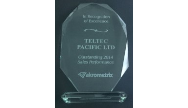 Awarded Outstanding 2014 Sales Performance from Akrometrix