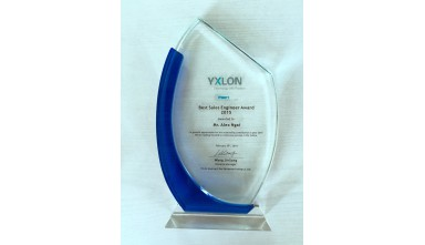 Awarded 2015 Best Sales Engineer from Yxlon