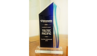 Awarded 2015 Top Sales Achievement from Akrometrix