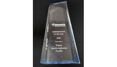 Awarded 2020 REPRESENTATIVE OF THE YEAR from Akrometrix